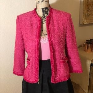 Pink St. John Collection Blazer